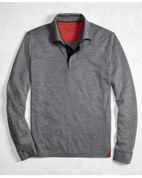 Brooks Brothers   Multicolor Golden Fleece® Brookstech Performance Interlock Long-sleeve Polo Shirt for Men   Lyst