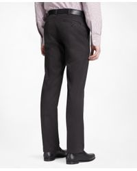 Brooks Brothers - Black Milano Fit Plain-front Lightweight Advantage Chinos® for Men - Lyst