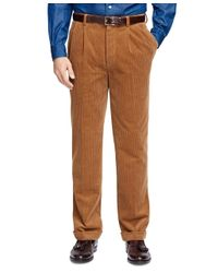 Brooks Brothers | Brown Thompson Fit Wide Wale Corduroys for Men | Lyst