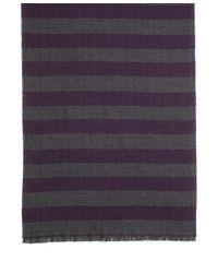 Brooks Brothers - Purple Herringbone Stripe Scarf for Men - Lyst