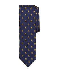 Brooks Brothers | Blue Golden Fleece® And Crossbones Slim Tie for Men | Lyst