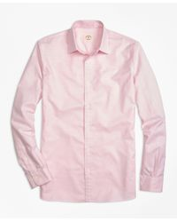 Brooks Brothers   Pink Nine To Nine Shirt for Men   Lyst