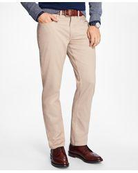 Brooks Brothers | Natural Five-pocket Bedford Cords for Men | Lyst
