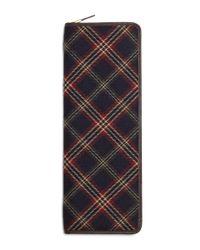 Brooks Brothers   Blue Signature Tartan Tie Case for Men   Lyst