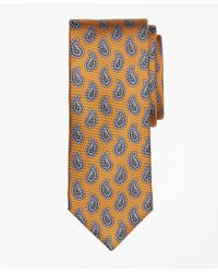 Brooks Brothers - Metallic Pine Print Tie for Men - Lyst