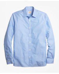 Brooks Brothers - Blue Nine-to-nine Stripe Shirt for Men - Lyst