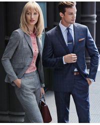 Brooks Brothers | Metallic Engraved Stripe Tie Bar for Men | Lyst