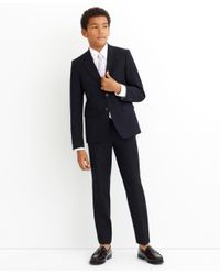Brooks Brothers | Blue Brooksease Junior Pleat-front Dress Trousers for Men | Lyst