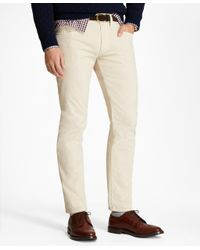 Brooks Brothers | Multicolor Garment-dyed 15-wale Corduroy Pants for Men | Lyst
