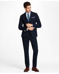 Brooks Brothers - Blue Seersucker Dress Trousers for Men - Lyst