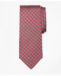 Brooks Brothers - Red Diamond Link Print Tie for Men - Lyst