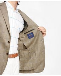 Brooks Brothers - Green Regent Fit Windowpane Sport Coat for Men - Lyst