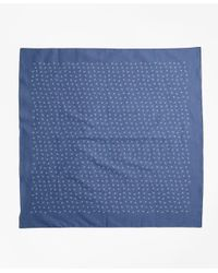Brooks Brothers - Blue Ditsy-print Bandana for Men - Lyst