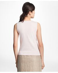 Brooks Brothers - Pink Lightweight Supima® Cotton Shell - Lyst