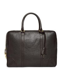 Brooks Brothers - Brown Buffalo Soft Briefcase for Men - Lyst