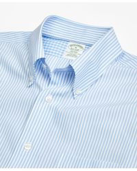 Brooks Brothers | Blue Non-iron Milano Fit Bengal Stripe Sport Shirt for Men | Lyst