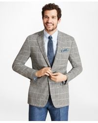 Brooks Brothers - Multicolor Regent Fit Brookscool® Check With Deco Sport Coat for Men - Lyst