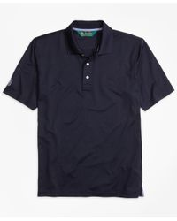 Brooks Brothers - Blue St. Andrews Links Golf Polo Shirt for Men - Lyst