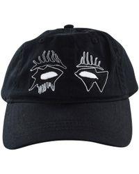 Haculla Black 'evil Eye' Cap for men