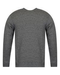 KENZO Gray Anthracite Grey/gold Eye Logo Sweatshirt for men