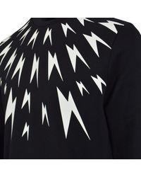 Neil Barrett Black Sweater For Men Jumper On Sale for men