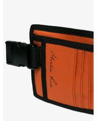 Martine Rose Orange Wallet Waistpack for men