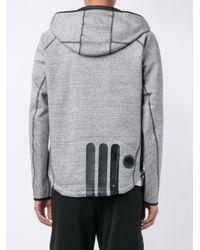 Y-3 - Black Zip-up Hoodie for Men - Lyst