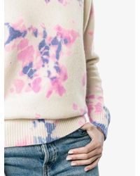 The Elder Statesman Multicolor Tie Dye Sweatshirt