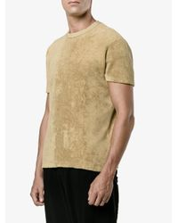 Our Legacy Multicolor Towelling T-shirt for men