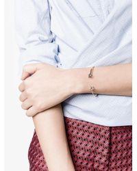 Rosa De La Cruz Metallic Black Diamond Star Bracelet