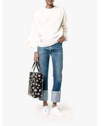 Stella McCartney Multicolor Ruffle Trimmed Sweatshirt