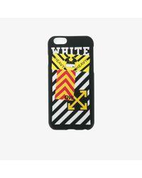 Off-White c/o Virgil Abloh Black Striped Iphone 6 Case
