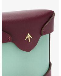 MANU Atelier Purple Micro Fernweh Backpack