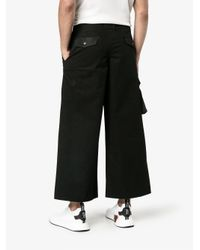 Liam Hodges Black Work Trousers With Side Pocket for men