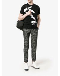 KENZO Black Signature T-shirt for men