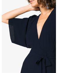Reformation - Blue Winslow Maxi Dress - Lyst