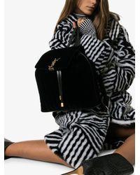 Saint Laurent Black Vicky Backpack