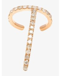 Asherali Knopfer - Multicolor 18k Rose Gold Theo Diamond Earring - Lyst