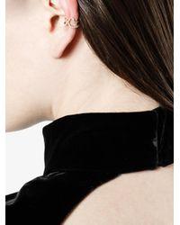 Paige Novick - Metallic Tplt Mini Diamond Ear Cuff - Lyst