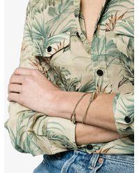 Rosantica - Gray Scoglio Bracelet With Bead Detail - Lyst