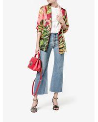 Dolce & Gabbana - Black Red Lucia Shoulder Bag - Lyst