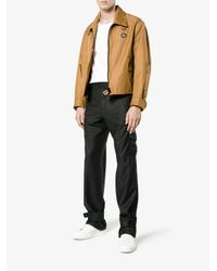 J.W. Anderson - Gray High Waisted Cargo Trousers for Men - Lyst