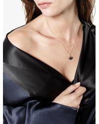 Ileana Makri Metallic Eye Pendant