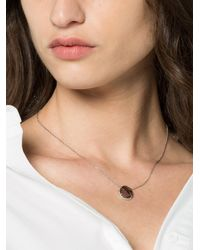 Kimberly Mcdonald - White Gold And Red Necklace - Lyst