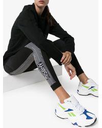 M I S B H V Black High-waisted Sport Knit leggings
