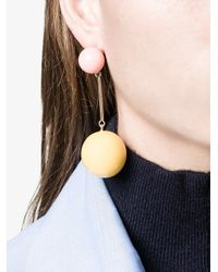 J.W. Anderson - Multicolor Sphere Drop Earrings - Lyst
