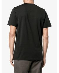 Y-3 Black Logo Print T-shirt for men