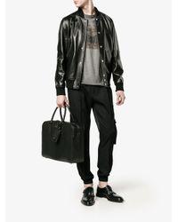 Valentino Black Valentino Garavani Rockstud Briefcase for men