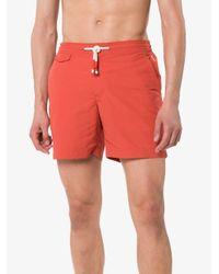 Orlebar Brown Red Berry Standard Swim Shorts for men