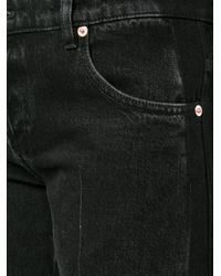 Balenciaga Blue Cropped Rockabilly Jeans